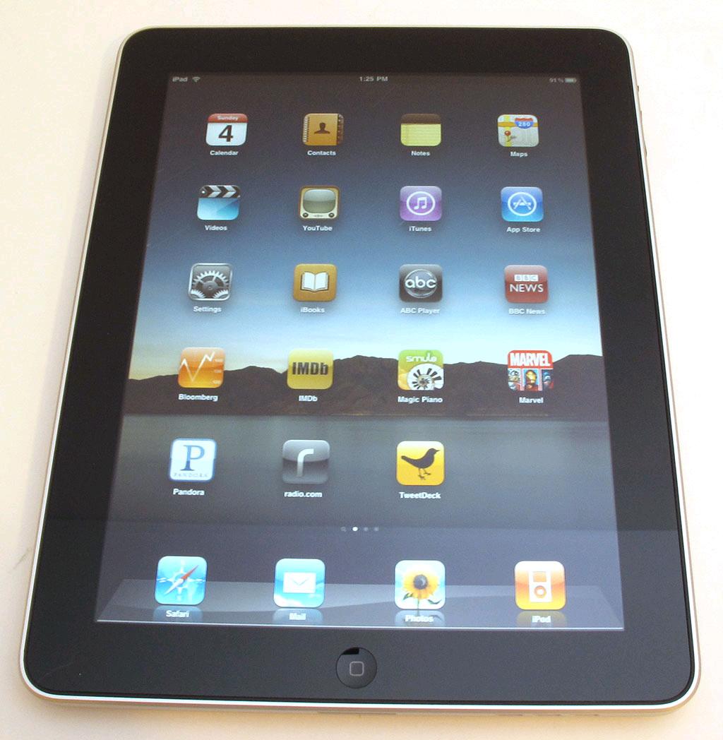 iPad mới: nhanh và đẹp hơn